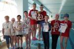 Соревнования по плаванию среди школьников, посвящённые Дню космонавтики