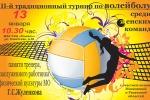 3-й традиционный турнир по волейболу среди женских команд памяти Г.С.Жуленкова